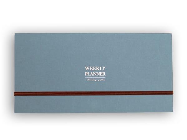 Weekly Planner Pad – blue