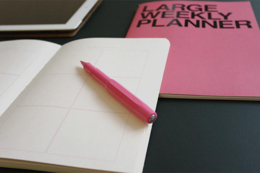 Planner pink - Brevi Manu trade